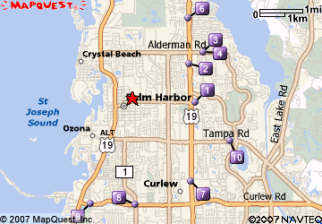 Imagepng - Map of us 19 north of tampa road